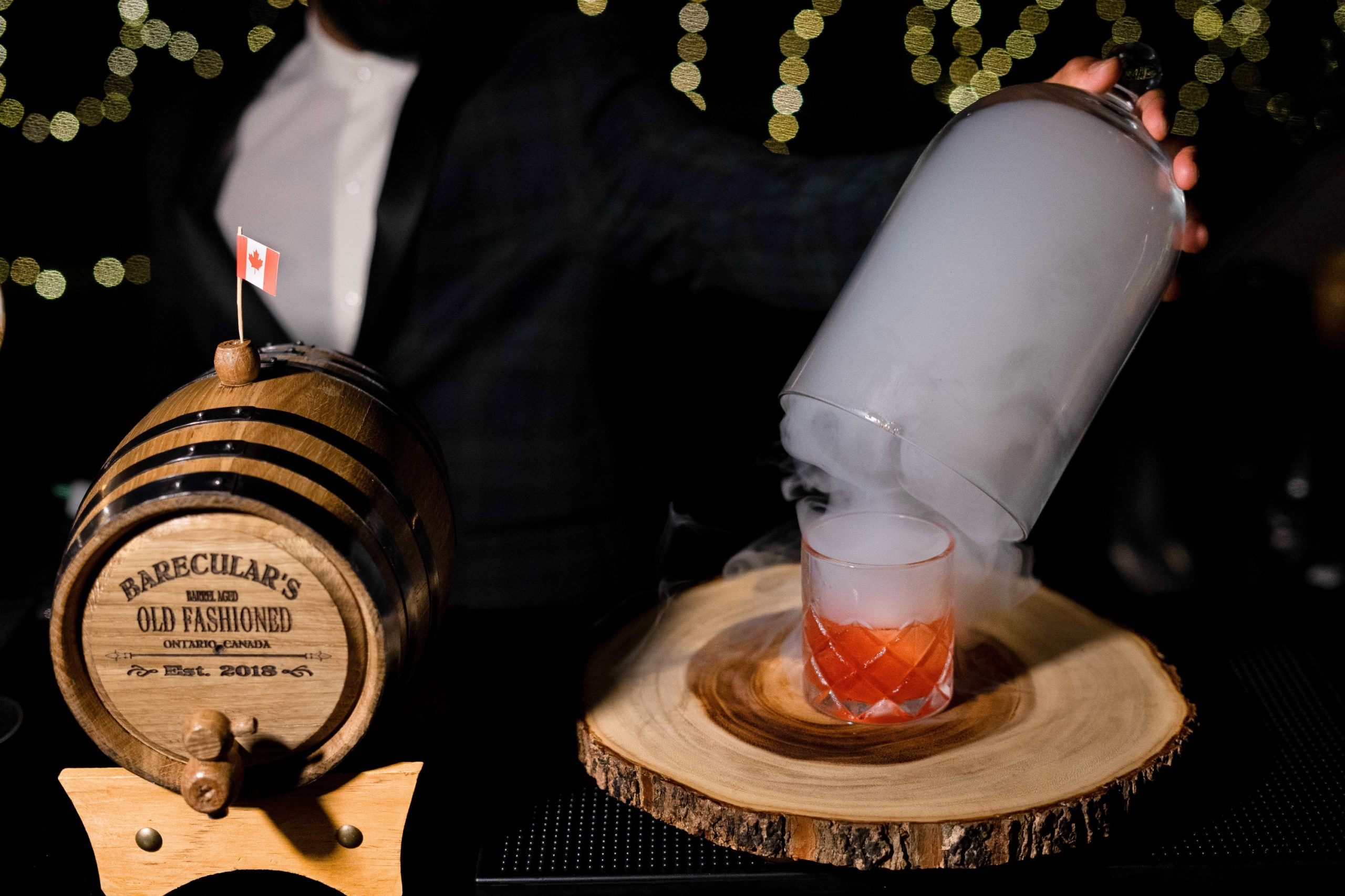 Barecular's Barrel Aged Old Fashioned
